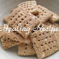Simple Microbiotic Okara Crackers