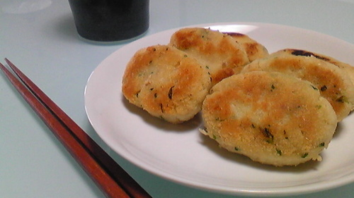 Easy Okara Nuggets for Bento or Snack