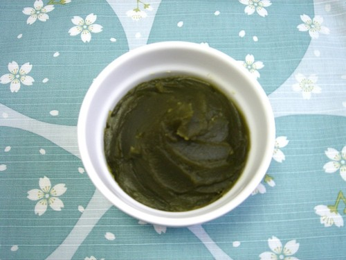 Matcha-Anko (Sweet Bean Paste with Matcha)