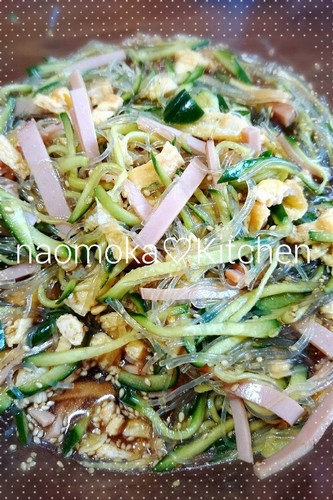 Tasty Chinese-Style Cellophane Noodle Salad