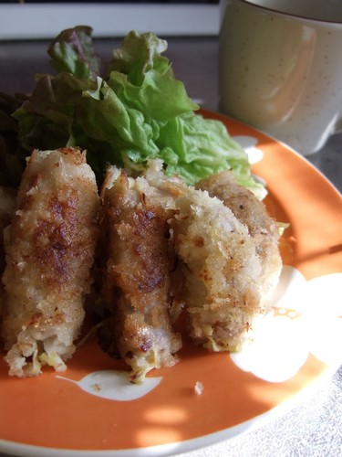 Tonkatsu Pork Rolls