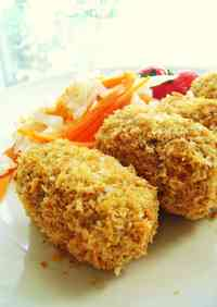 Non-fried Potato Croquettes