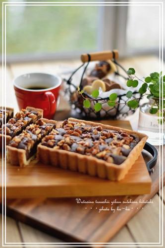 Pralines Chocolate Tart