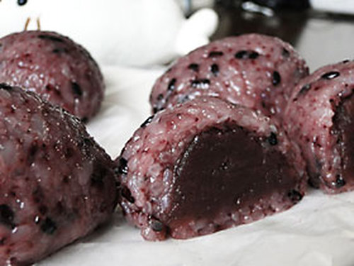 Black Rice and Koshi-an Koshi-An Ohagi