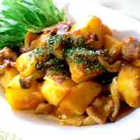 Sweet and Savory Chicken and Potato Stir Fry With Ketchup