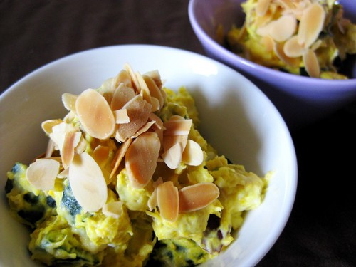 Creamy Kabocha Squash and Sweet Potato Salad