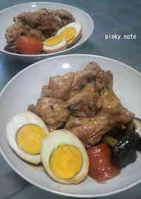 Rich Drumstick Simmer with Marinated Eggs