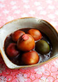 Mizu-Yokan Dango for Girl's Day or Cherry Blossom Viewing