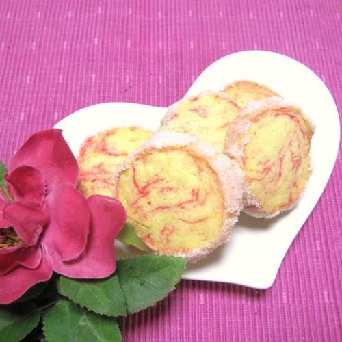 White Day Pink Diamond Cookies