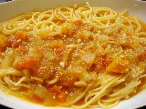 Easy Leftover Vegetable Soup Pasta