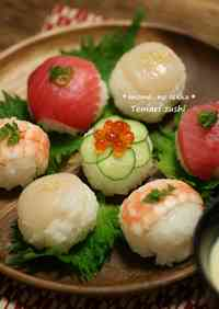 Temari Sushi - Sushi Balls for Doll's Day