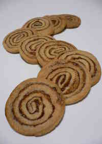 Swirly Flat Cookies