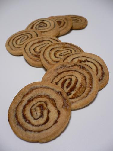 Swirly Flat Cookies