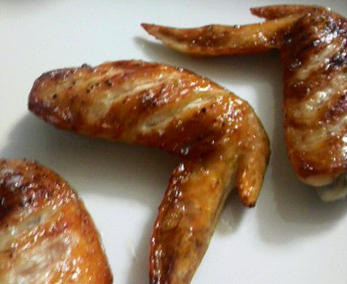 A Simple Taste! Grilled Chicken Wings
