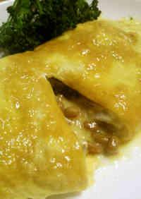 Gooey Cheesy Natto Omelet