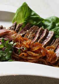 Beef Steak in Refreshing Japanese Marinade
