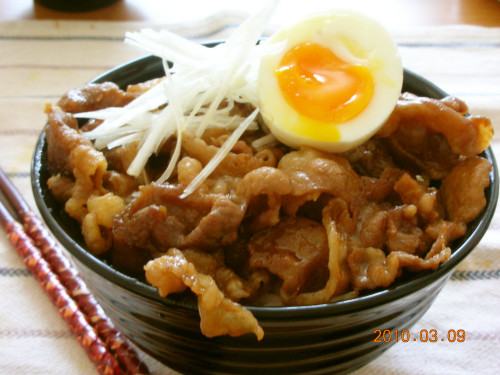 Obihiro Pork Don ~ Big Bowl with Pork Offcuts!