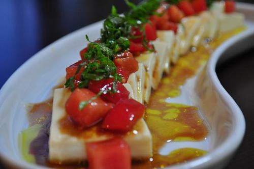 Chilled Tofu With Tomato