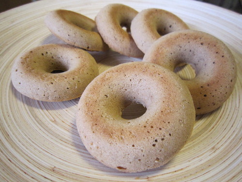 Baked Donuts No Flour or Eggs