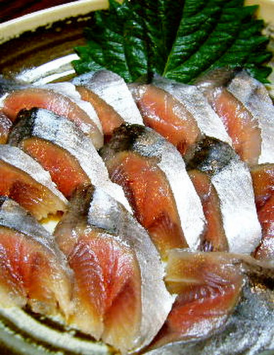 Fresh Pacific Saury Prepared with a Home Kitchen Knife (Sashimi and Cured with Vinegar)