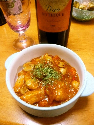 Tomato Stew with Pork Filet and Beans