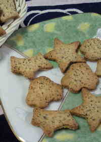 Tea Flavoured Biscuits (No Oil or Eggs!)