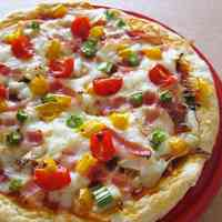 Easy Pizza with Okara Soy Pulp