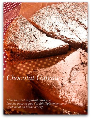 Simple and Rich Gateau au Chocolat