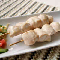Simple, Plump & Soft Chicken Tender Yakitori