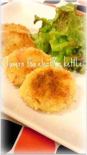 Healthy! Tofu Crab Stick Cream Croquettes