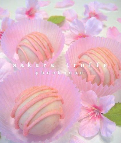 Sakura Truffle Chocolates