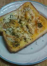 5-Minute Egg & Basil Toast