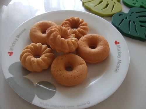 Baked Okara Mini Donuts