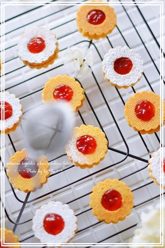 Jam & Buttercream Sandwich Cookies