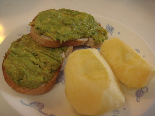 Simple Macrobiotic Avocado Toast