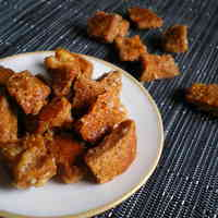 Crispy! Ginger Rusks Made From Bread Crusts