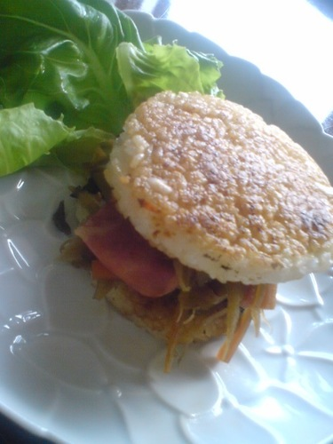 The Definitive Kinpira Stir-fry Rice Burger!