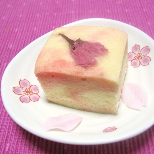 Easy Sakura Ukishima (Japanese-style Steamed Cakes) for Cherry Blossom Viewing