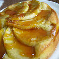 Crunchy Caramel Apple Tart