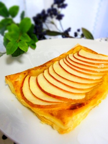 Easy Open-Face Apple Tarts