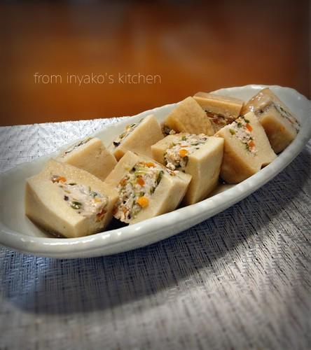 Freeze-dried tofu Stuffed with Meat