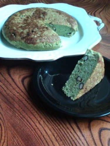Black Bean & Okara Cake (Matcha & Kuromitsu Flavour)