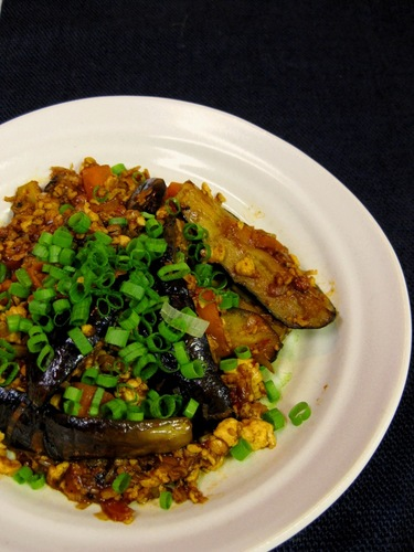 Healthy Mapo Eggplant with Tofu