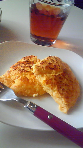 Fluffy & Chewy Okara Cheese Bake
