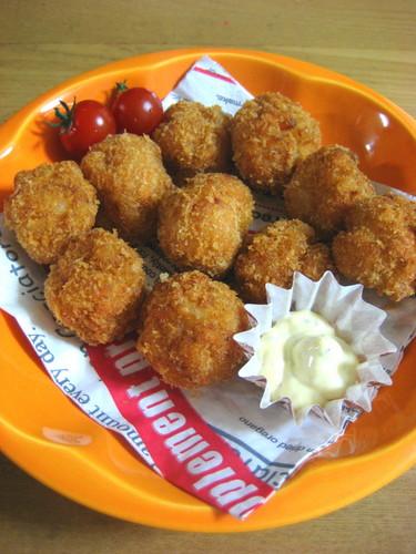 Rolly Polly Shrimp Dumpling Balls