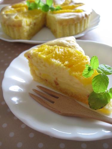 Sunshine Cream Cheese Tart