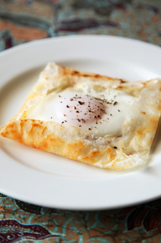 Rice Paper Galette
