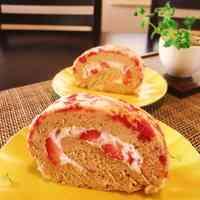 Berry Berry Roll Cake