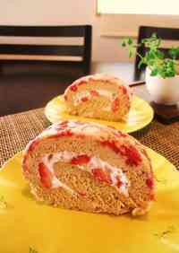 Berry Berry Roll Cake
