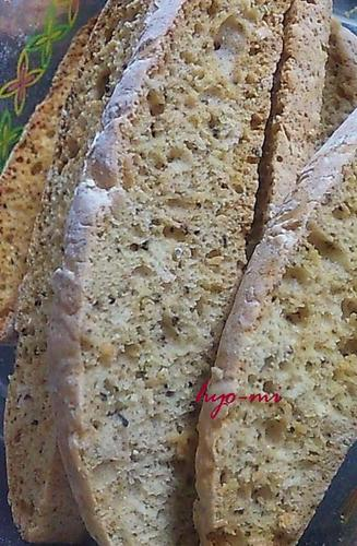 Oil & Egg Free Biscotti with Cinnamon Tea Flavor